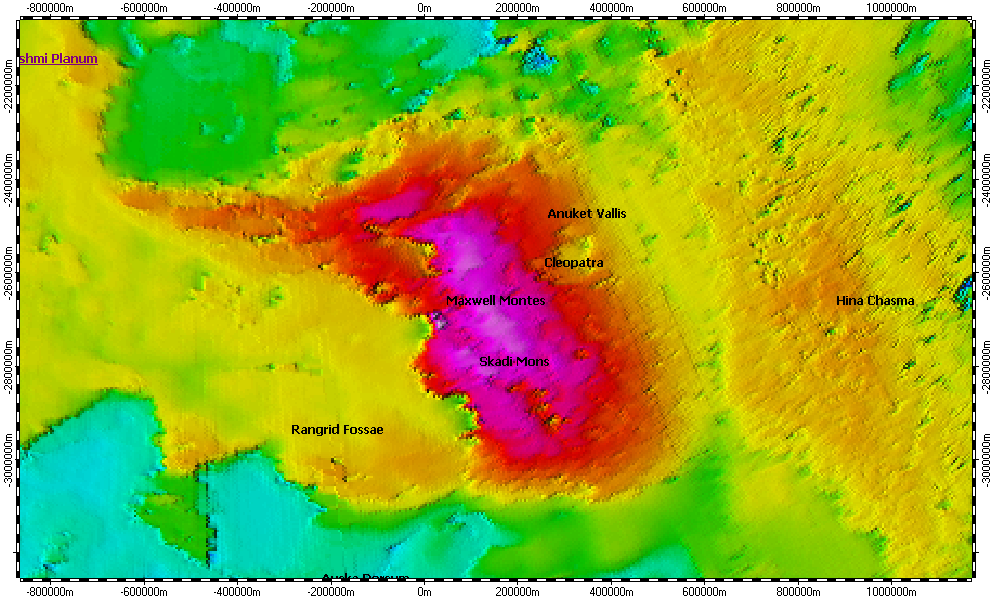 Maxwell Montes on North Pole of Venus, topography on ellis county elevation map, phobos elevation map, triton elevation map, west coast elevation map, mercury elevation map, victoria elevation map, earth elevation map, olympus mons elevation map, lunar elevation map, uranus elevation map, mars elevation map, ganymede elevation map, moon elevation map,